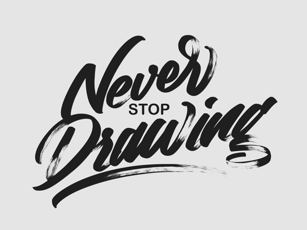 35 Remarkable Lettering and Typography Designs for Inspiration  - 35