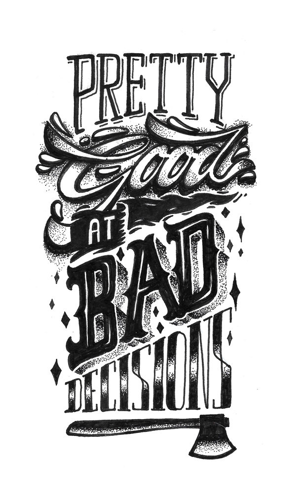 29 Remarkable Lettering and Typography Designs for Inspiration - 18
