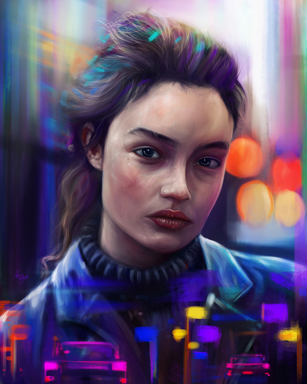 Remarkable Digital Illustrations and Painting Art by Ahmed Karam - 12