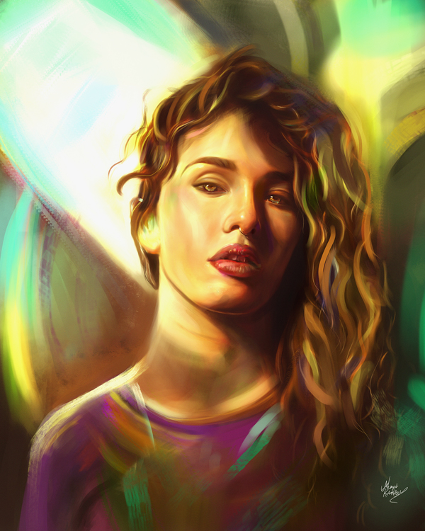 Remarkable Digital Illustrations and Painting Art by Ahmed Karam - 16