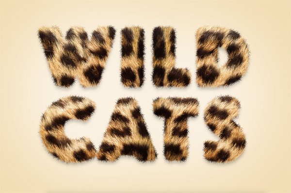 How To Create an Animal Fur Text Effect in Adobe Photoshop