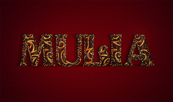 How to Create an Ornate Gold Text Effect in Adobe Photoshop