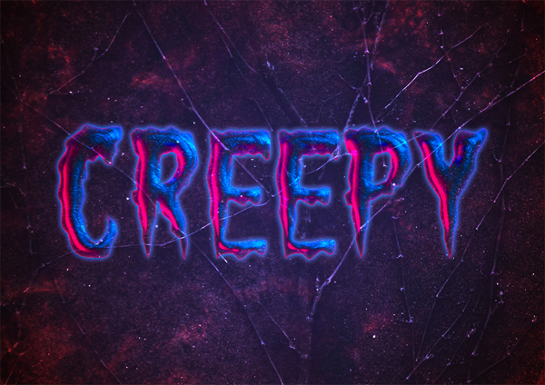 How to Create a Creepy Halloween Text Effect in Photoshop
