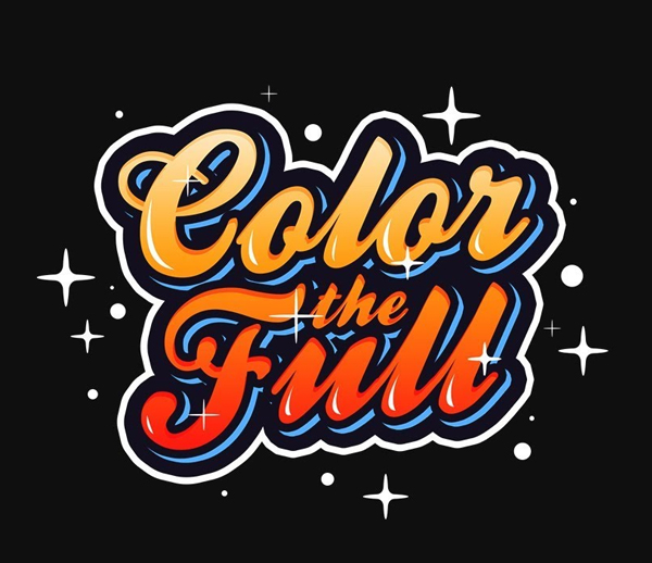 How to Create Colorful Text Effect in Photoshop - Typography lettering Photoshop Tutorials
