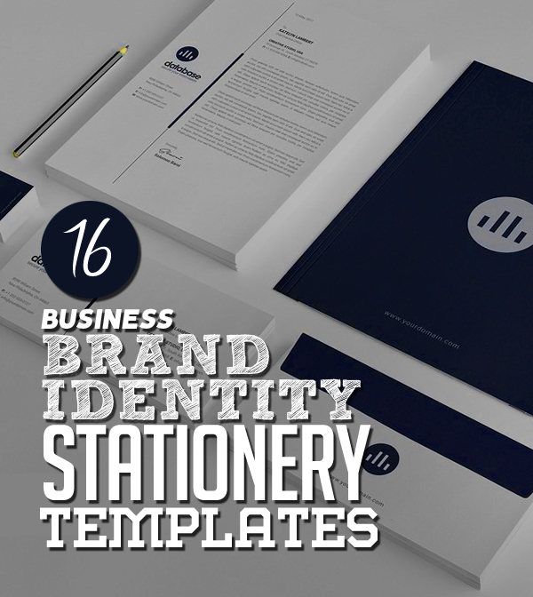 Modern Business Branding / Stationery Templates Design