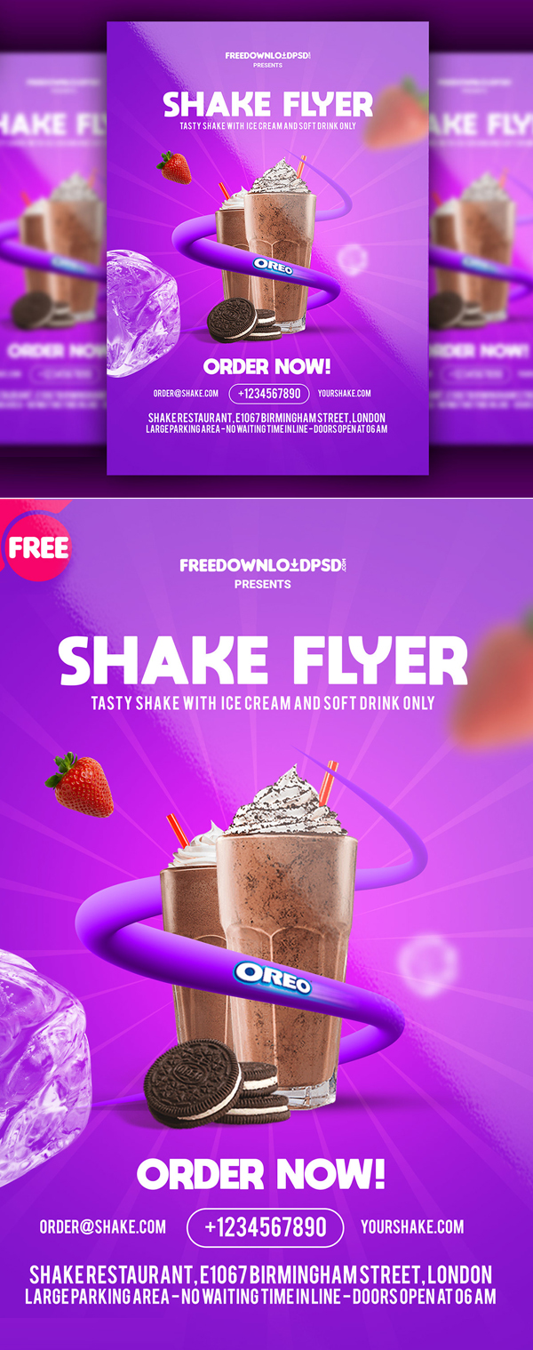 Free Business  Flyer Templates PSD