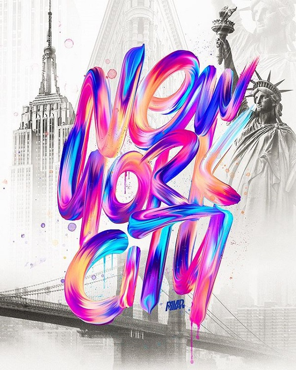 34 Remarkable Lettering and Typography Designs for Inspiration - 1