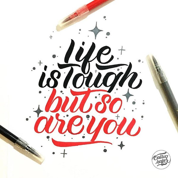 34 Remarkable Lettering and Typography Designs for Inspiration - 17