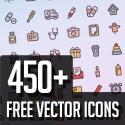 Post thumbnail of 150+ Free Vector Icons for Web, iOS and Android Apps UI Desgin