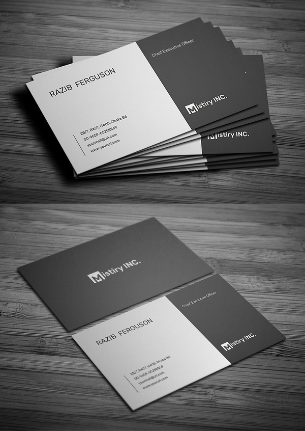 MS Word Business Card Template