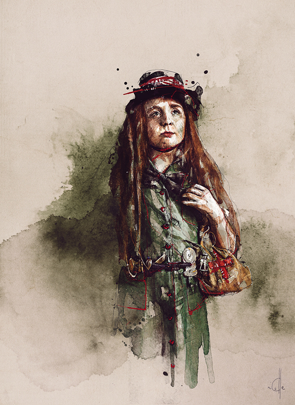 Amazing Digital Illustrations by Florian NICOLLE - 3