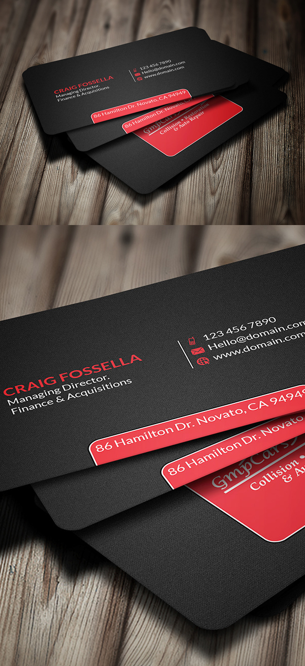 Free Creative Business Card Vector Download