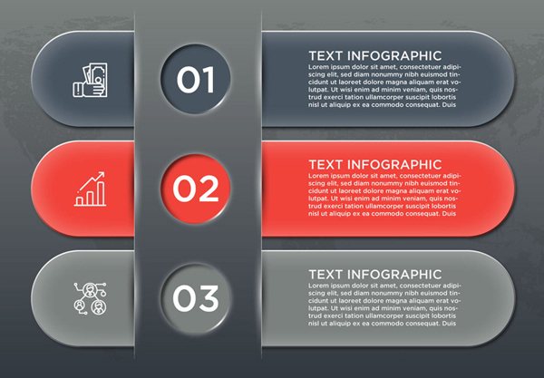 Free Business Infographics Banners Vector Graphics