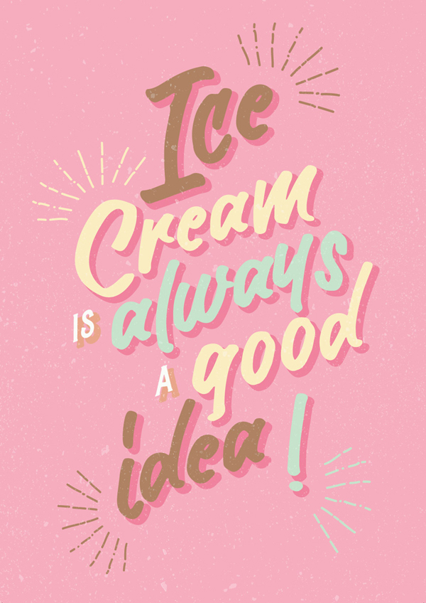 How to Create an Ice-Cream Script Poster in Adobe InDesign