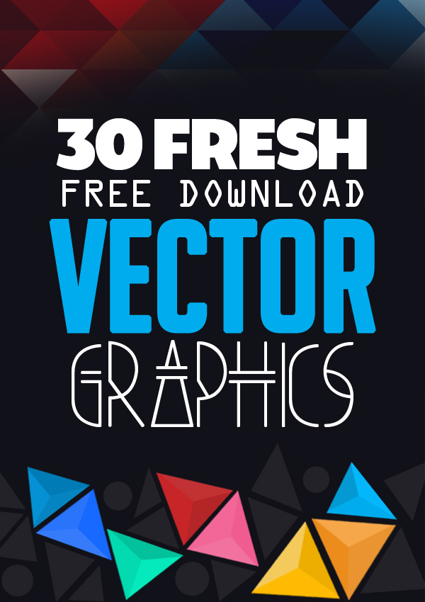 30 Free Vector Graphics and Vector Elements Download