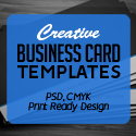 Post Thumbnail of Creative Business Card PSD Templates (28 Print Ready Design)