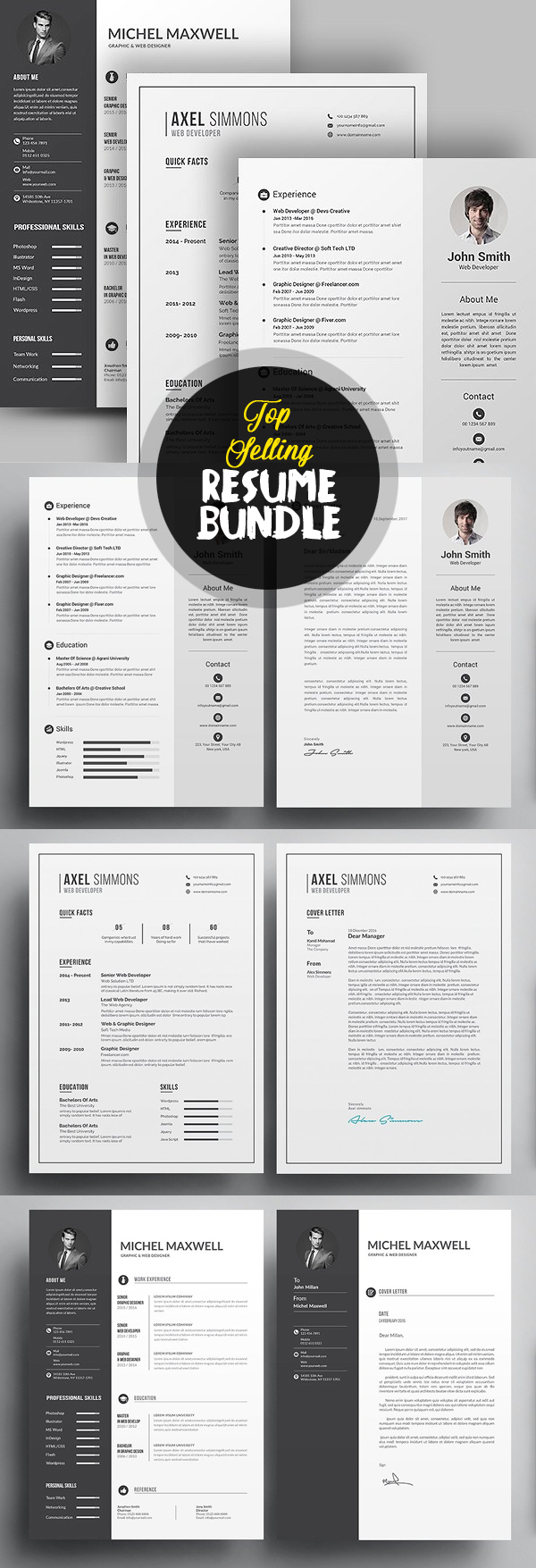 Top Selling Resume/CV Bundle