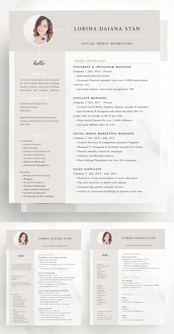 Resume : Social Media Marketing