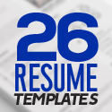 Post Thumbnail of 26 Professional Resume Templates with Cover Letters