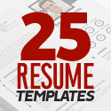 Post Thumbnail of 25 Modern Resume Templates with Cover Letter