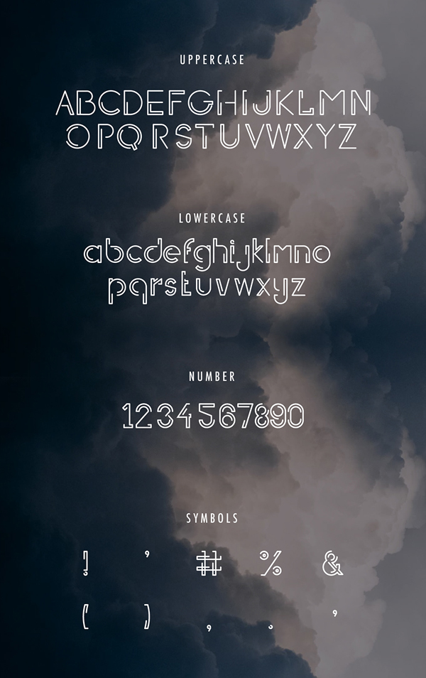 Halfomania fonts and letters