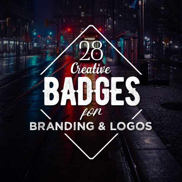 Creative Badges for Branding and Logos – 28 Examples