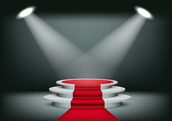 How to Create a Showroom Background With a Red Carpet in Adobe Illustrator