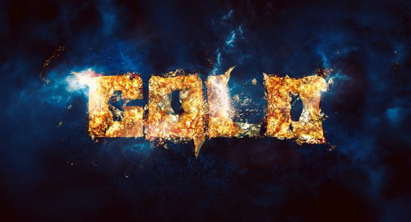 Create Simple, Sparkling Gold Text Effect in Photoshop