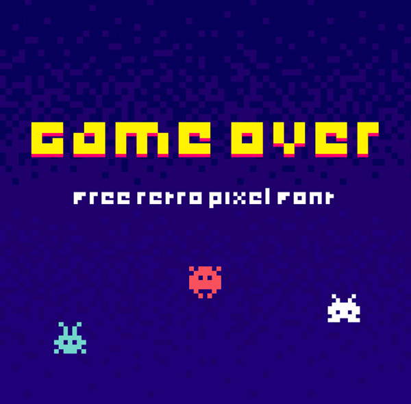 Game Over Free Font
