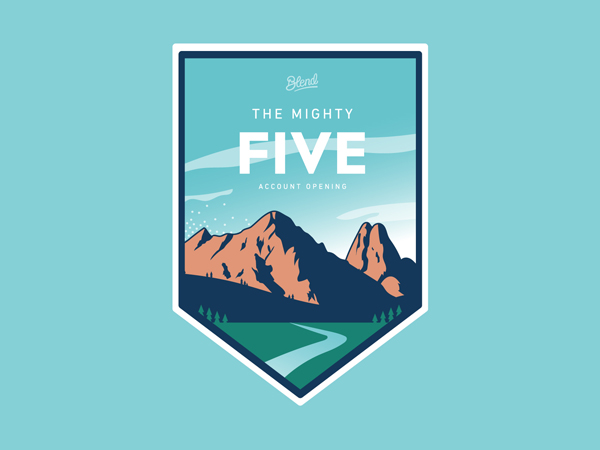 Mighty Five Sticker by Justin