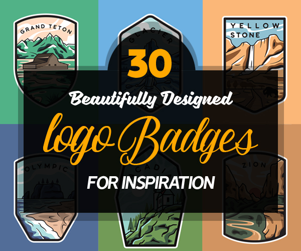 Logo Badges Design: 30 Beautiful Concepts and Ideas