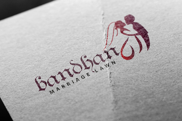 Luxury Wedding Logo Template Preview - 4