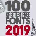 Post Thumbnail of 100 Greatest Free Fonts for 2019