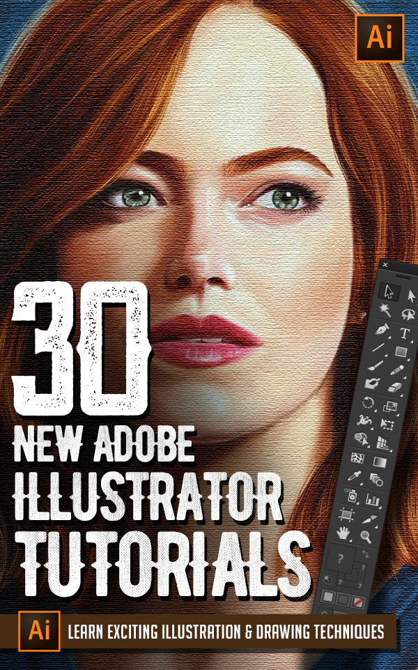 Illustrator Tutorials: 30 New Tuts to Learn Drawing and Illustration Tricks