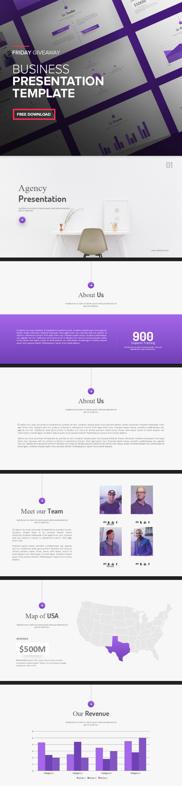 Freebies for 2019: Free Presentation Template