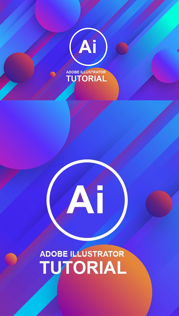 Create 3D Background With Gradient Color Combinations Adobe Illustrator Tutorial