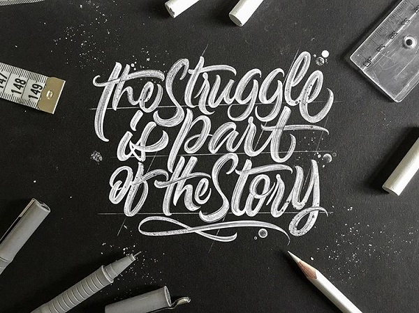 Fresh Remarkable Lettering and Typography Design for Inspiration - 11