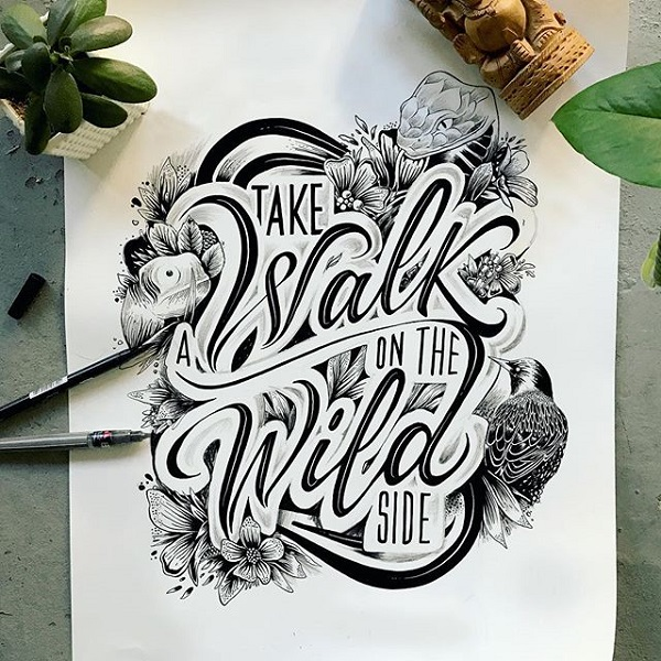 Fresh Remarkable Lettering and Typography Design for Inspiration - 12