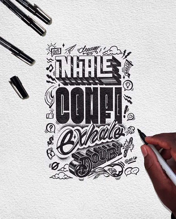 Fresh Remarkable Lettering and Typography Design for Inspiration - 13