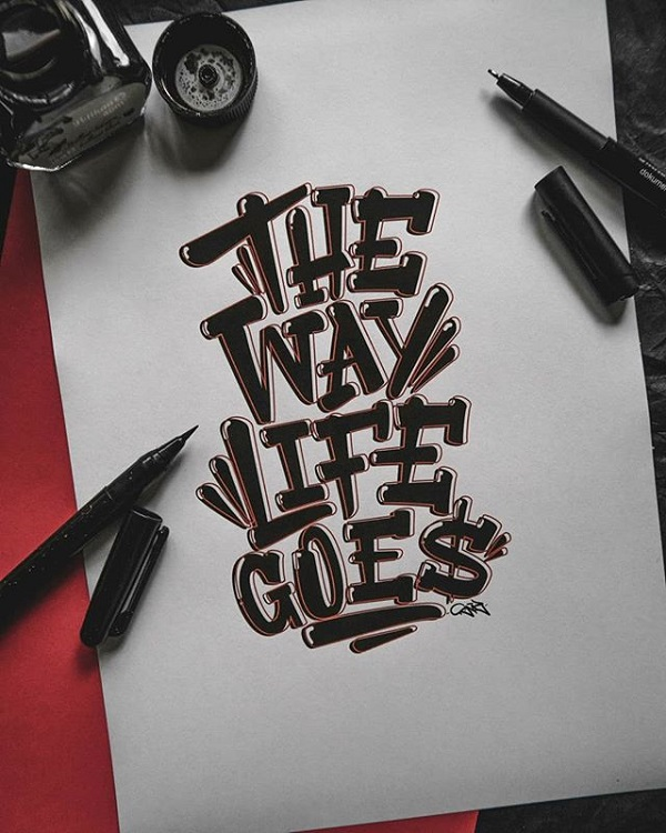 Fresh Remarkable Lettering and Typography Design for Inspiration - 16