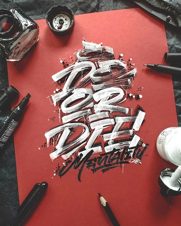 Fresh Remarkable Lettering and Typography Design for Inspiration - 17