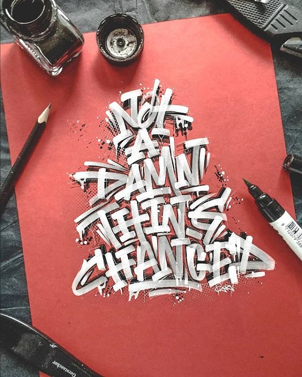Fresh Remarkable Lettering and Typography Design for Inspiration - 19