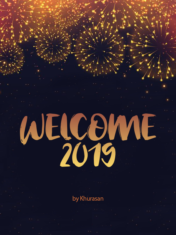 Welcome 2019 Free Font Design