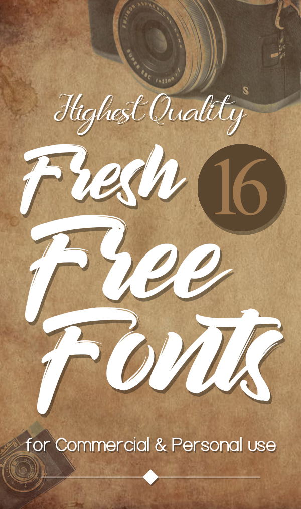 Fresh Free Fonts for Graphic Designers