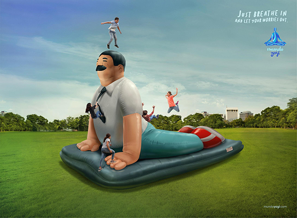 Hilarious and Clever Print Advertisements - 12