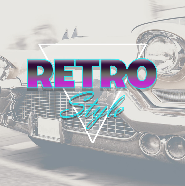 Add Retro Font or Background Image in Your Presentation