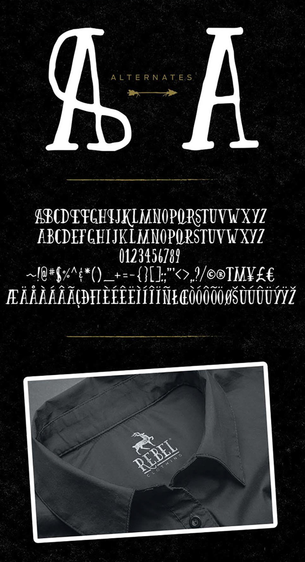 Firefly Font Font Letters