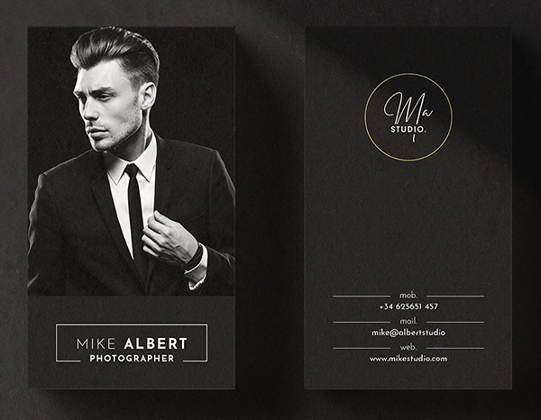 Elegant and Awesome Business Card Design