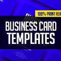Post Thumbnail of New Professional Business Card Templates – 32 Print Design