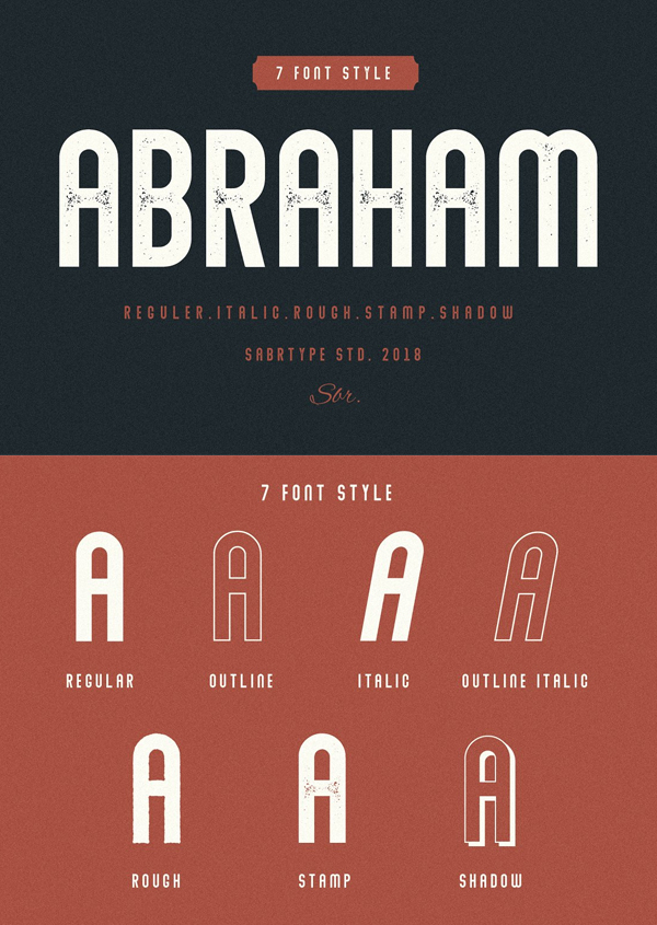 100 Greatest Free Fonts for 2020 - 63